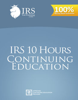 2021 IRS 10 hour Continuing Education