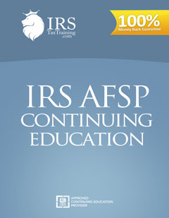 2019 IRS ASFP 18 Hour Continuing Education