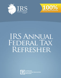 2020 IRS 6 Hour AFTR Continuing Education
