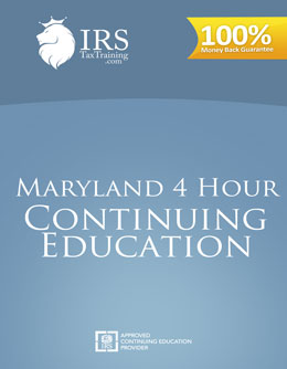 2021 Maryland 4 hour Continuing Education